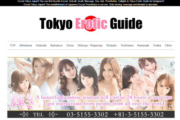 TOKYO EROTIC GUIDE