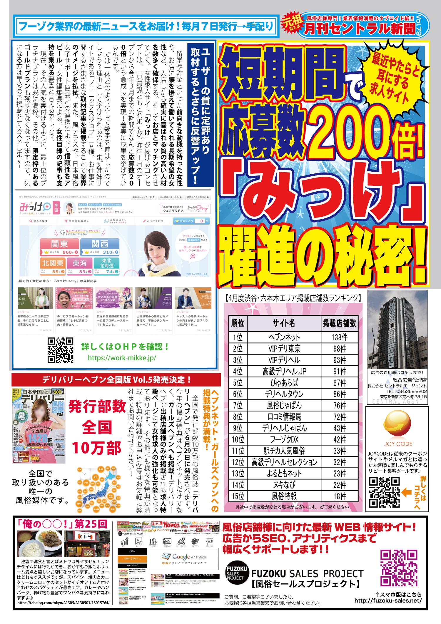セントラル新聞vol79